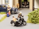 Noch 15912 BMW R60 Motorbike With Sidecar