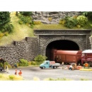 Noch 58062 Double Track Natural Stone Hard Foam Tunnel Portal