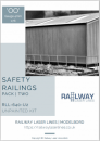 RLL640U2 – OO Gauge Safety Railing Pack 2 – Unpainted