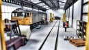 Railway Laser Lines RLL6312RS OO Gauge Diesel Depot Shed – 2 Road – 4 Loco – Full Kit With Windows Both Sides