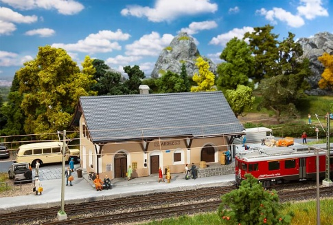 Faller 110144 Ardez Station Kit