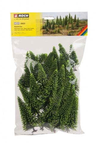 Noch 26825 Spruce Trees 5-15cm (25 pack)