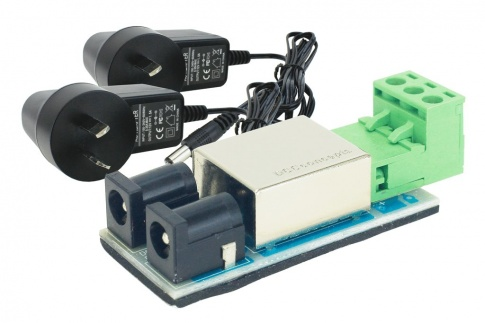 12v DC Split Power Supply Kit. (inc PCB and 2x Universal Wall Plugs)