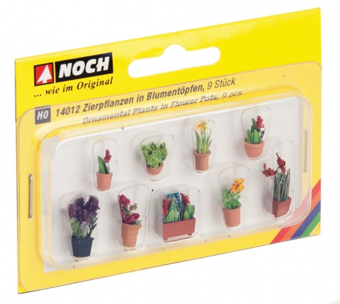 Noch 14012 Ornamental Plants In Pots (9)