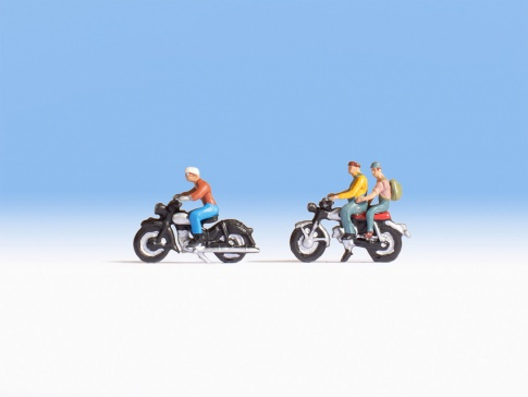 Noch 15904 Motorcyclists (2) Figure Set