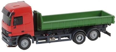 Faller 161481 Car System LKW MB Actros L02 Skid roll-off container