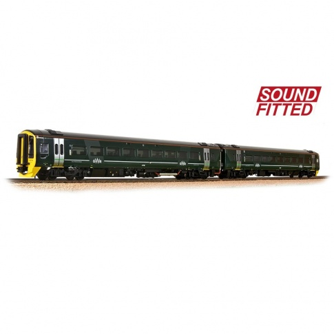 Bachmann 31-519SF Class 158 2-Car DMU 158766 GWR Green (FirstGroup) With Sound Fitted