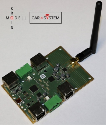 Krois model Car-System 7000, 2.4GHz radio central unit for PC and digital centers