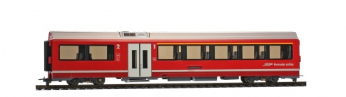 Bemo 3298 122 RhB AB 572 01 AGZ intermediate car