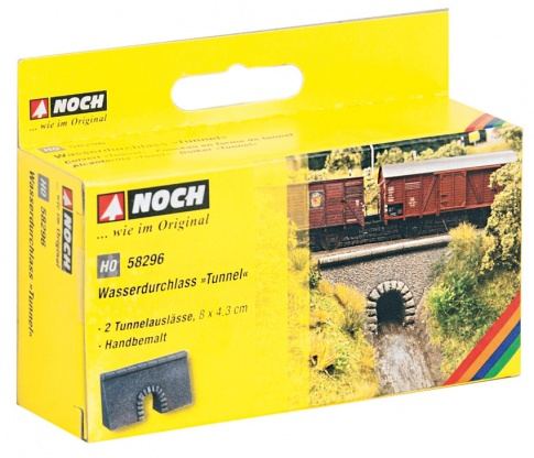 Noch 58296 Culvert Tunnel Hard Foam Kit