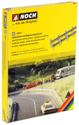 Noch 60511 - Crash Barriers and Posts (60)