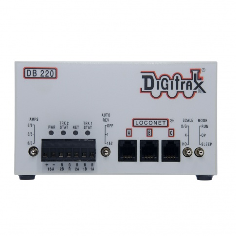 Digitrax DB220 Dual 3/5/8 Amp AutoReversing DCC Booster