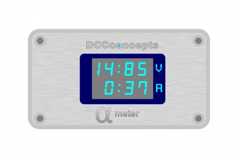 DCC Concepts Alpha Meter for DC or DCC DCD-AVA.1