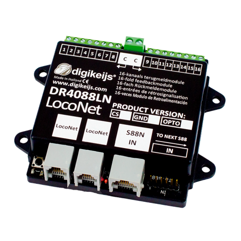 Digikeijs DR4088LN-OPTO 16 Channel S88N Feedback Module with L.NET