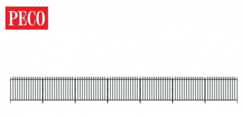 PECO LK-741 O gauge GWR Straight Spear Fencing and Gates
