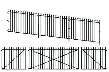 PECO LK-742 O gauge GWR Ramp Spear Fencing and Gates