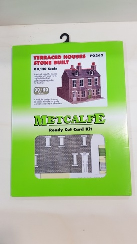 Metcalfe PO262 00/H0 Terraced Houses in Stone