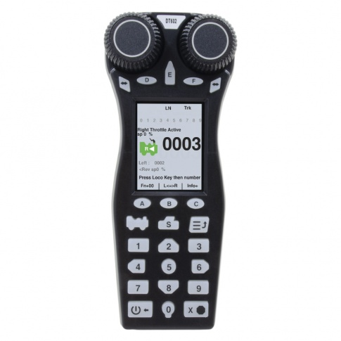 Digitrax DT602DE Advanced Duplex Super Throttle CE (For Europe)