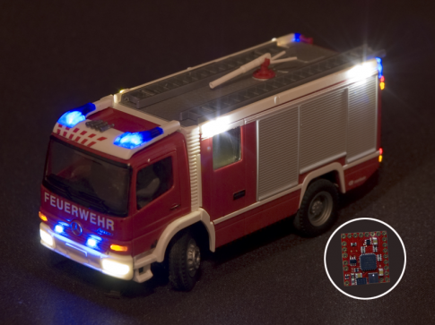 Blue light module MB2 Car System Fire Brigade Police