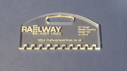 Railway Laser Lines Single Sleeper Spacer Tool