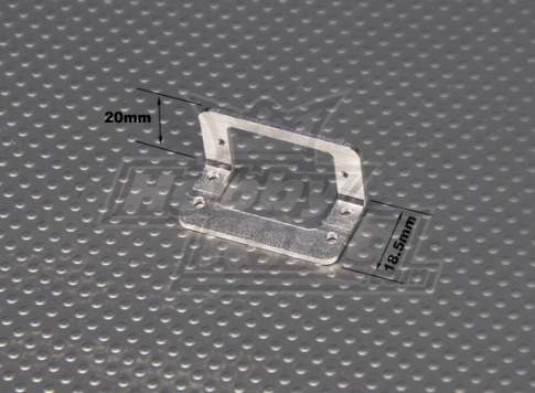 Aluminum Mounting Bracket for 9g Servos (1pc)
