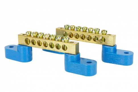 DCC Concepts DCC-Bbar2 Solid Brass Power Distribution Bars (2 Pack)