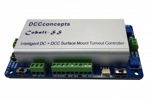 DCC Concepts DCP-CBSS-2 2x Cobalt-SS with Controller & Accessories