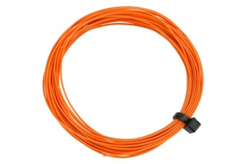DCC Concepts Wire Decoder  Stranded 6m (32g)  Orange