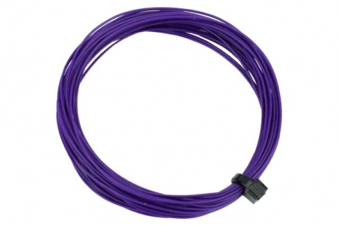 DCC Concepts Wire Decoder  Stranded 6m (32g)  Purple