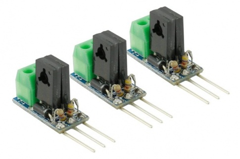 DCC Decoder Converter  3 Wire to 2 Wire  (3 Pack)