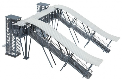 FALLER 120110 - Neustadt/Weinstrasse Footbridge Kit