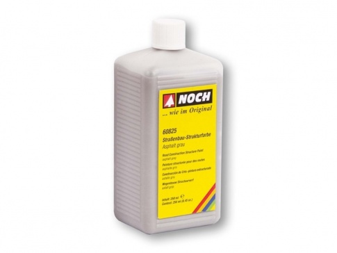 NOCH 60825 -Road Construction Asphalt Grey Structure Paint (250ml)