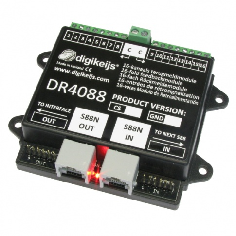 Digikeijs DR4088CS 16-channel feedback module S88N