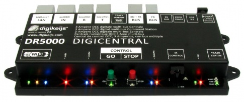 Digikeijs DR5000-ADJ DCC Multi-bus central