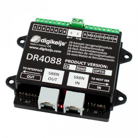 Digikeijs DR4088OPTO 16-channel feedback module S88N