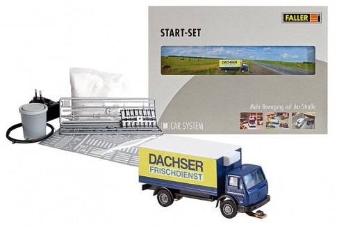 Faller 162007 Car System Start-Set Lorry MB SK Dachser