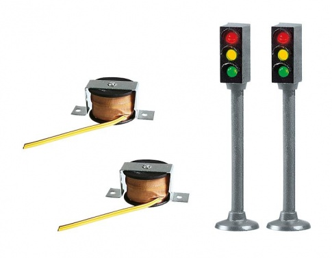 Faller 162056 2 Traffic lights without switch