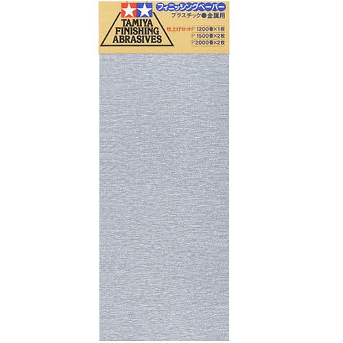 Tamiya 87024 FINISHING ABRASIVES FINE