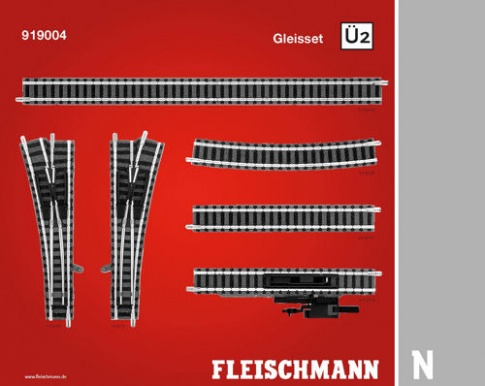 Fleischmann 919004 Track Extension Pack U2