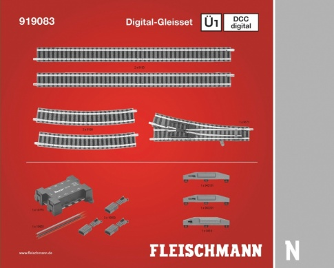 Fleischmann 919083 Digital Track Extension Pack U1
