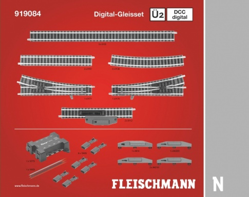 Fleischmann 919084 Digital Track Extension Pack U2