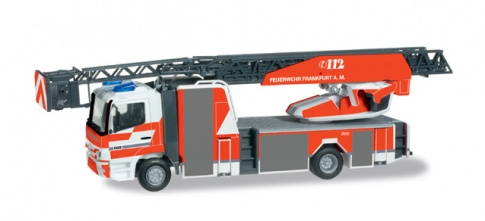 Herpa 091879  Mercedes-Benz Atego turnable ladder L32 XS ''Frankfurt Fire ''