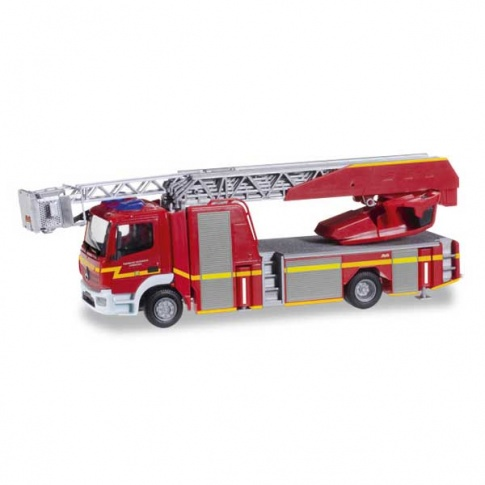 Herpa 092036 Mercedes-Benz Atego Metz Drehleiter XS fire department