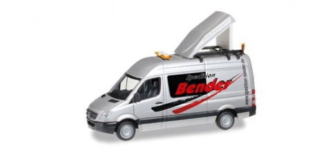 Herpa 092159 Mercedes Benz Sprinter Escort Vehicle