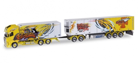 Herpa 304917 Volvo FH Gl. XL refrigerated box ''Ristimaa Super Bee''