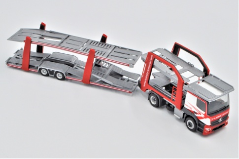Herpa 304412 Mercedes Benz  Actros Car Transporter