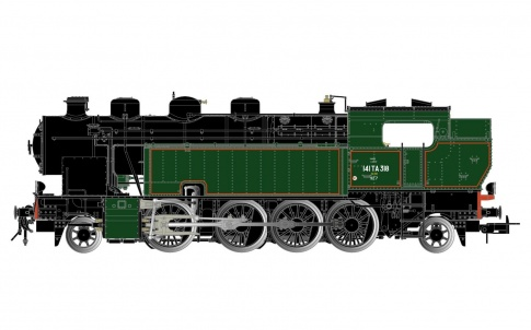 Jouef HJ2377 SNCF 141 TA 318 Steam Locomotive III