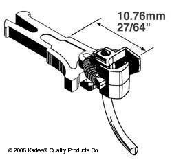 Kadee 19 Long NEM362 European Coupler Long 10.76mm (2pr)