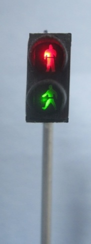 Krois-Modell 1101 Pedestrian Crossing Red / Green
