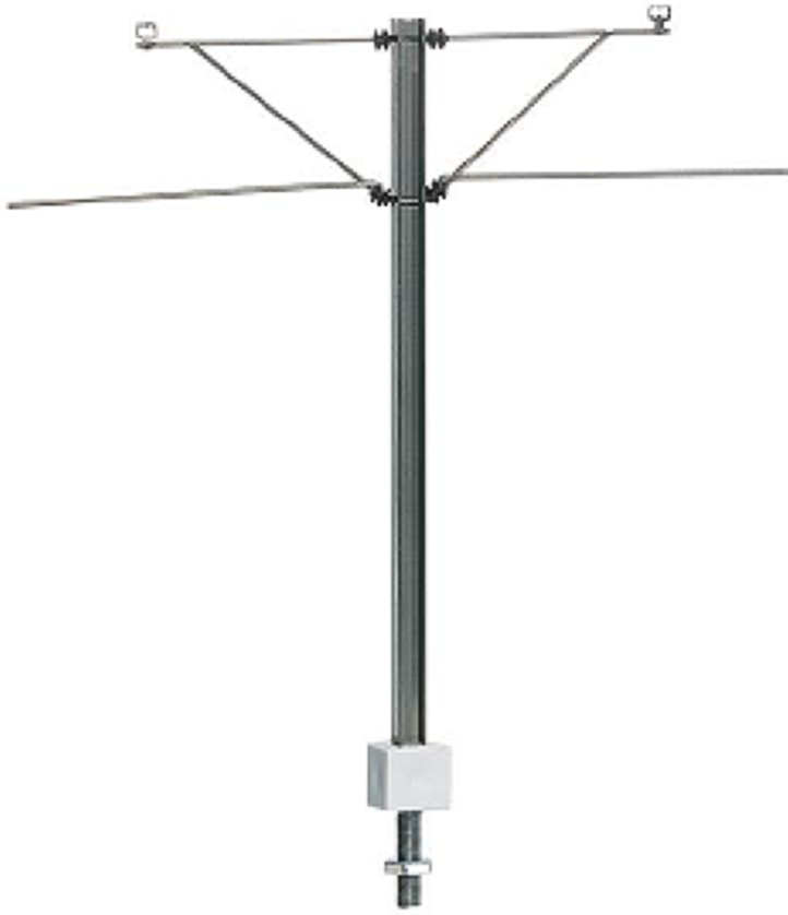 H-profile-middle mast for tramway